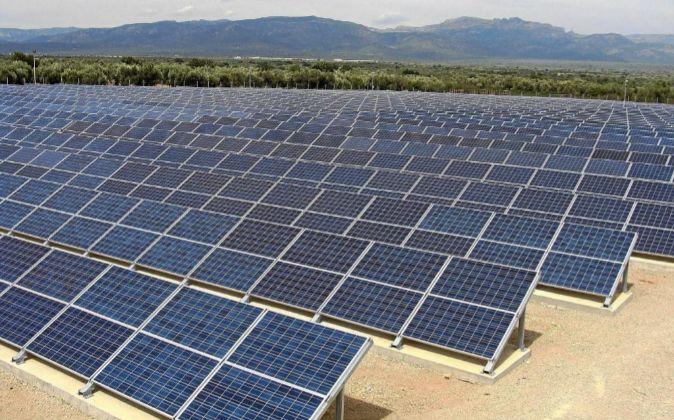 Parque fotovoltaico en Ulldecona