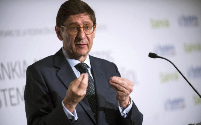 El presidente de Bankia, José Ignacio Gorigilzarri.