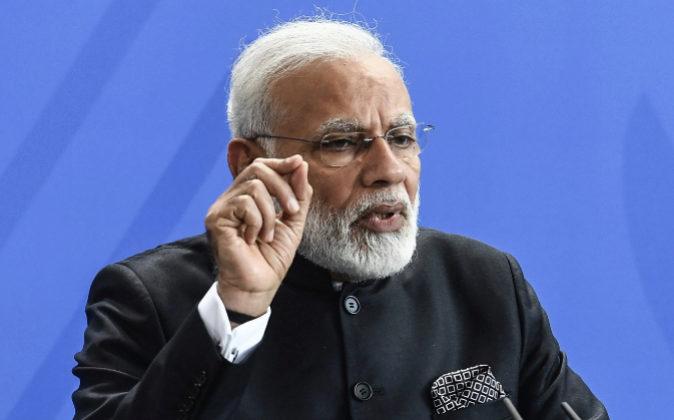 El primer ministro indio, Narendra Modi.