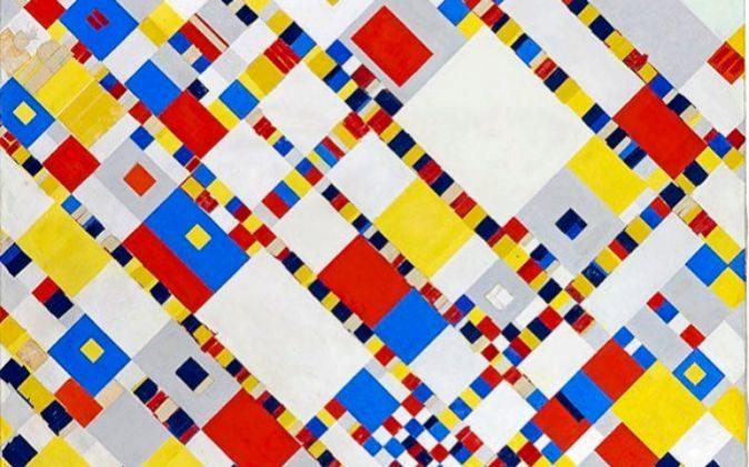 Piet Mondrian, 'Victory Boogie Woogie' (1942-1944)....