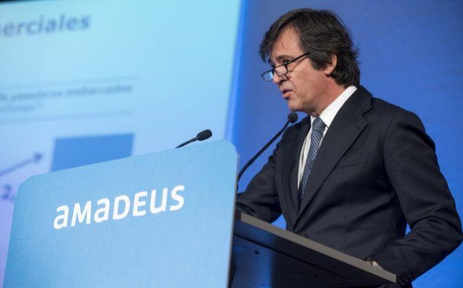 Luis Maroto es el consejero delegado de Amadeus.