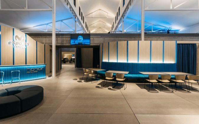 Una de las salas del Movistar eSports Center.