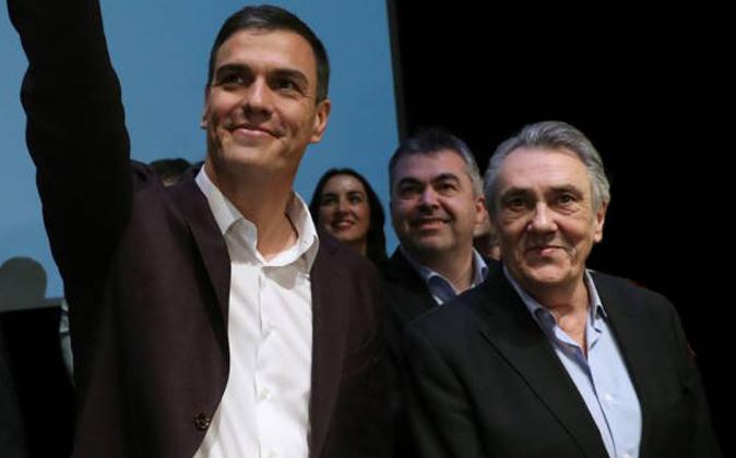 Pedro Sánchez y Manuel Escudero, dos resucitados.