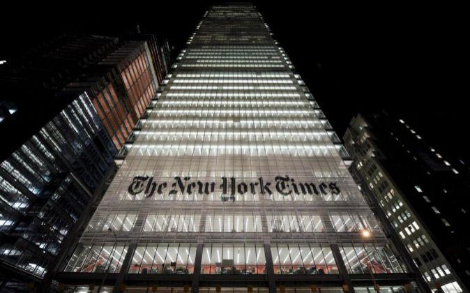 Sede del New York Times.