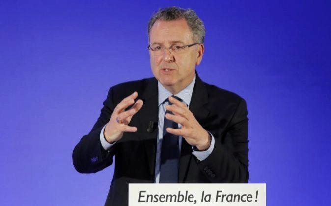 Imagen de archivo. Richard Ferrand actual ministro de la Cohesión...