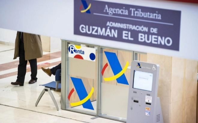 Delegación de la Agencia Tributaria en Guzmán el Bueno, Madrid.