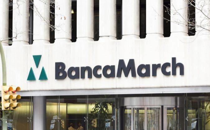 Edificio de Banca March en Madrid.