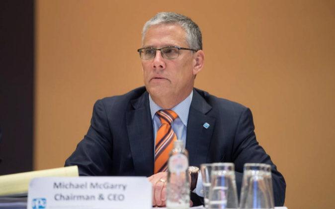 Michael McGarry, CEO de PPG.