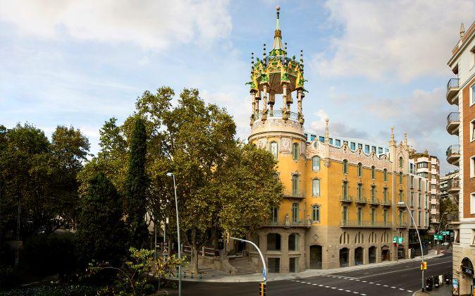 Edificio La Rotonda donde se trasladará NIKE en Barcelona.