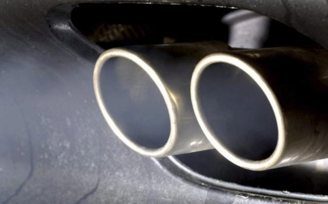 Imagen de un tubo de escape