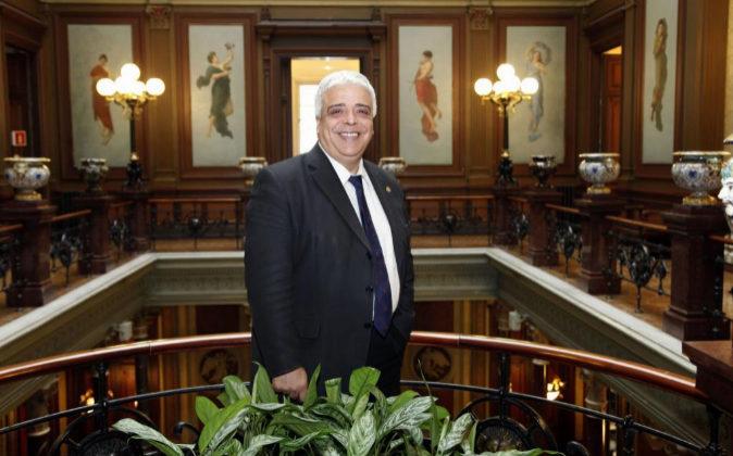 Oriol Rusca, actual decano del Colegio de Abogados de Barcelona.