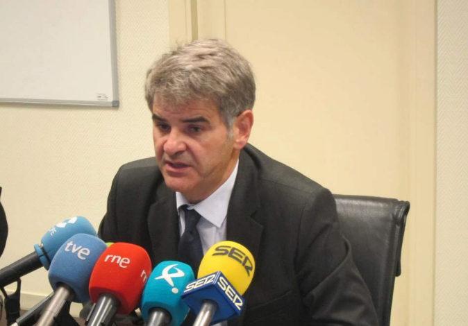 El director gerente del SES, Ceciliano Franco, en una imagen de...