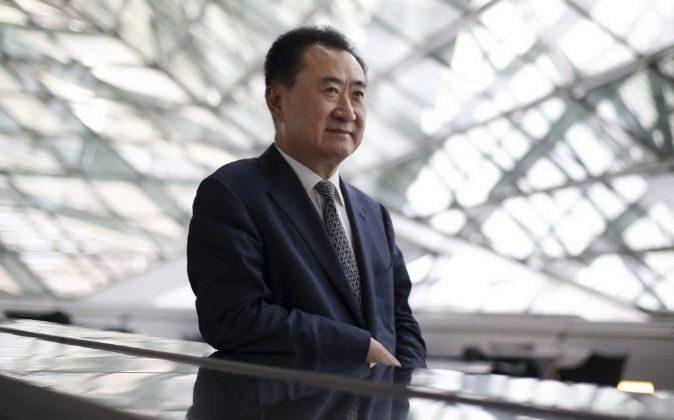 Wang Jianlin.