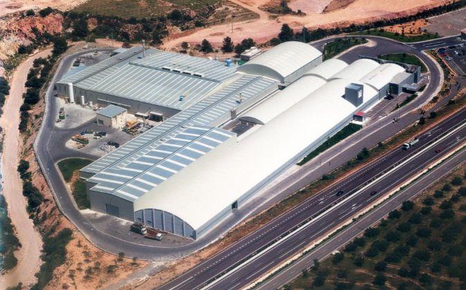 La planta de Compañía Valencia de Aluminio Baux en Segorbe.