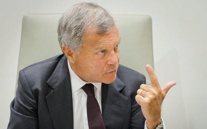 Martin Sorrell, CEO de WPP.