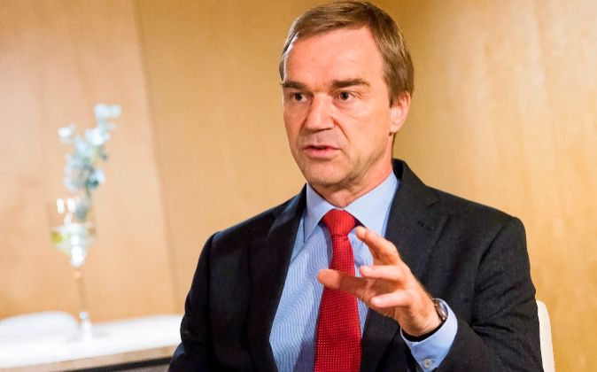 El economista jefe del MEDE, Rolf Strauch.