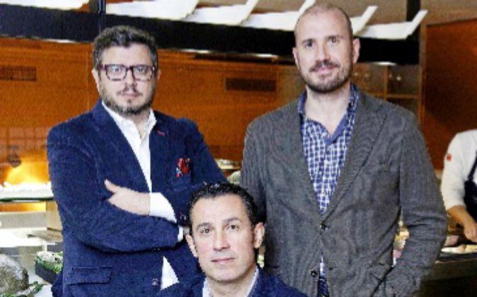 Hermanos Iglesias, propietarios del Grup Iglesias.