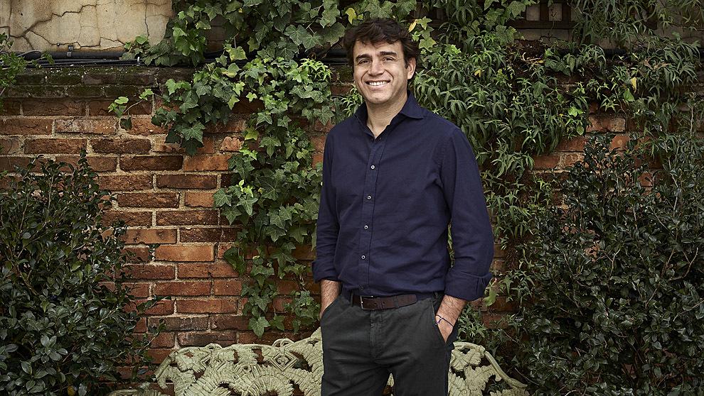 Sandro Silva, en Numa, su nuevo restaurante de inspiración italiana.