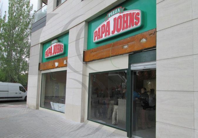 Un establecimiento de Papa John's en España.