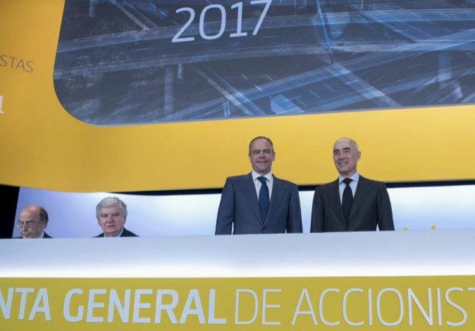 Imagen de la última Junta General de Accionistas de Ferrovial.