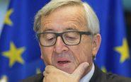 El presidente de la Comisión Europea, Jean-Claude Juncker, comparece...