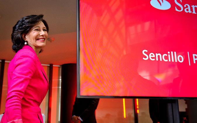 Ana Botín, presidenta del Banco Santander, ha comprado el Banco...