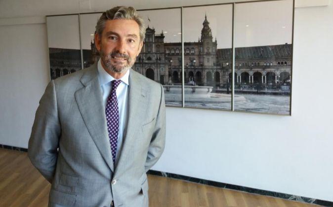 Gaspar Sáez, director regional de Barceló en Andalucía, ayer.