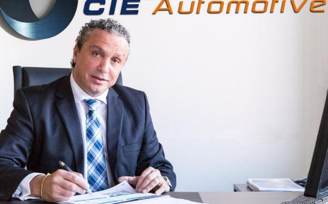 Jesús María Herrera es el consejero delegado de Cie Automotive.
