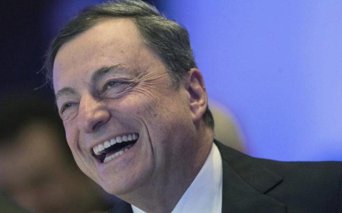 El presidente del Banco Central Europeo (BCE), Mario Draghi, el pasado...