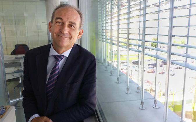 Gabriel Pérez Alcalá, rector de la Universidad Loyola Andalucía, en...
