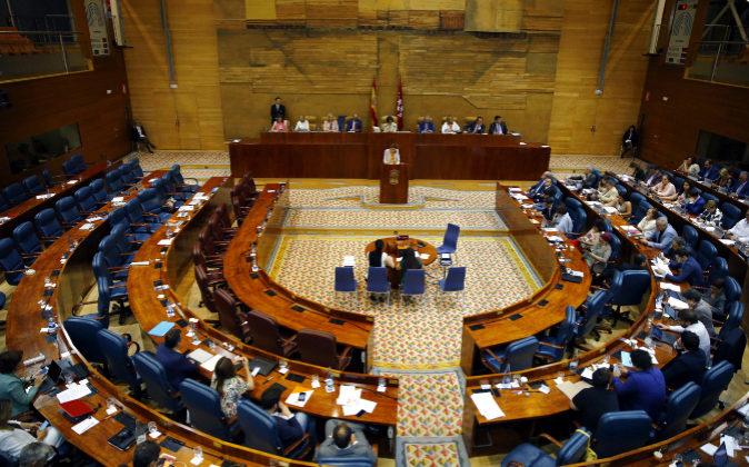 Imagen de la Asamblea de Madrid.