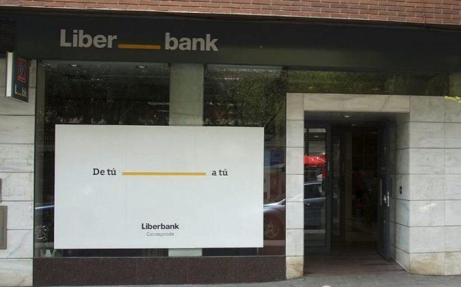 Imagen de una sucursal de Liberbank