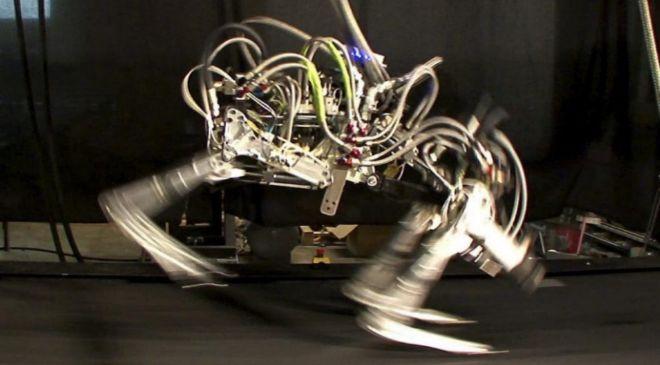 """Imagen de un robot de cuatro patas apodado """"cheetah""""..."""