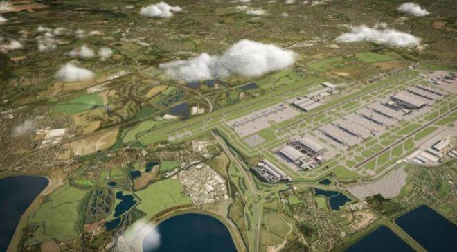 ampliación prevista para el  aeropuerto de Heathrow.