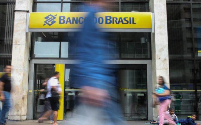 Fotografía de una sede del Banco do Brasil.