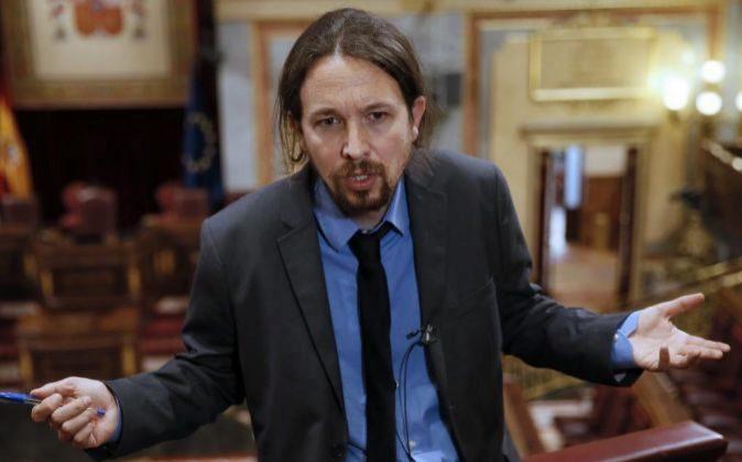 El líder de Podemos, Pablo Iglesias, la semana pasada.