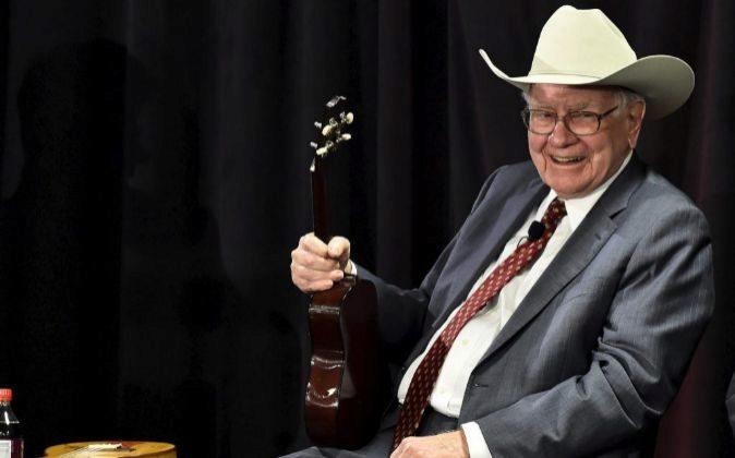 El multimillonario inversor estadounidense, Warren Buffett.