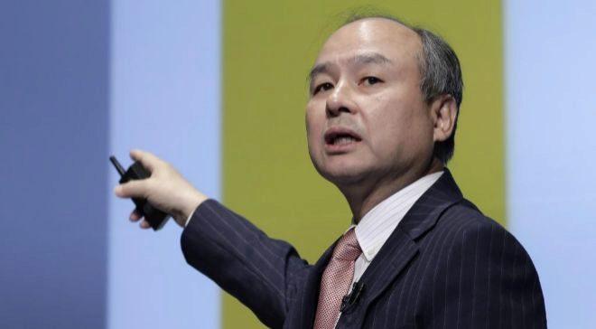 Masayoshi Son, presidente del grupo tecnológico japonés Softbank,...