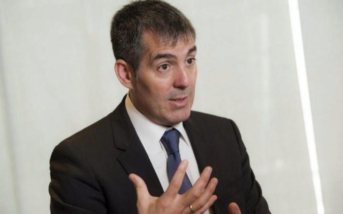 Fernando Clavijo Batlle, presidente de Canarias