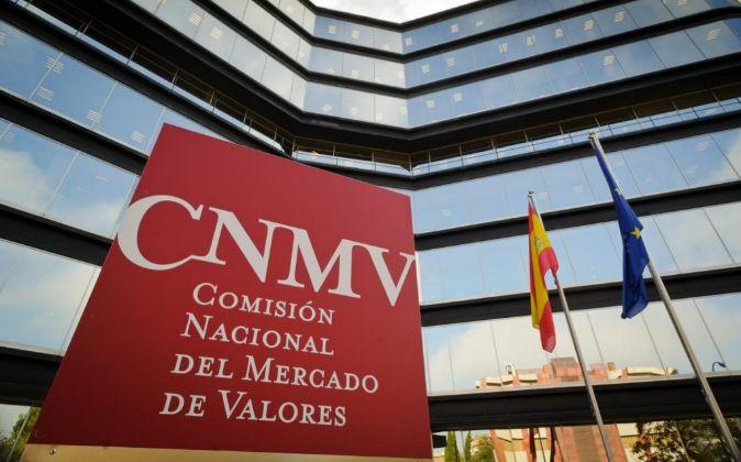 Sede de la CNMV en la calle Edison de Madrid.
