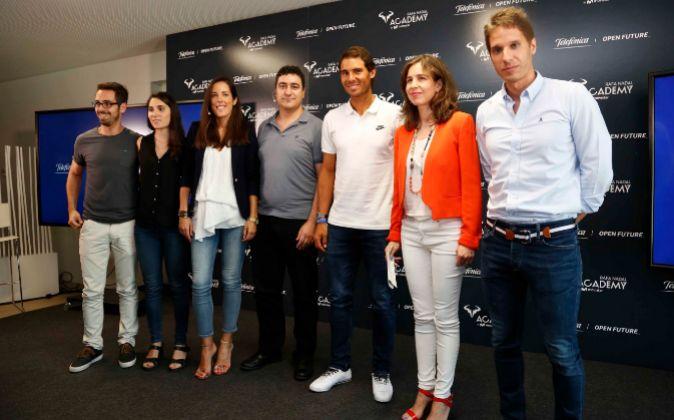 De izquierda a derecha, David Varas y Delia Fernández, 'matching...