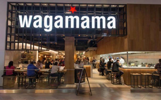 Restaurante Wagamama.