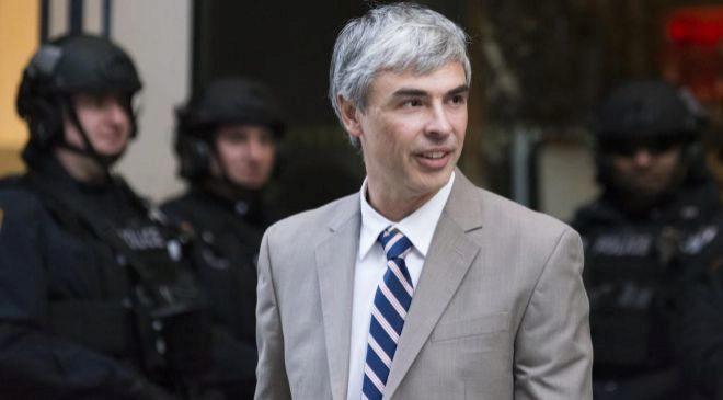 Larry Page, CEO de Alphabet.