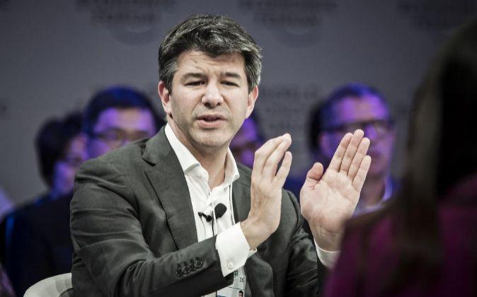 Travis Kalanick, fundador de Uber.