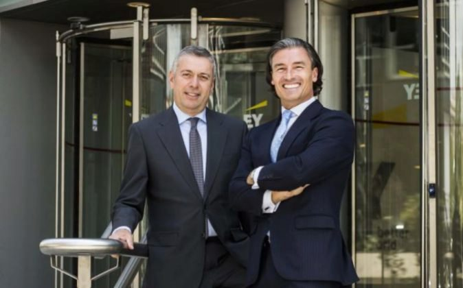 José Luis Perelli y Federico Linares, presidente y consejero delegado...