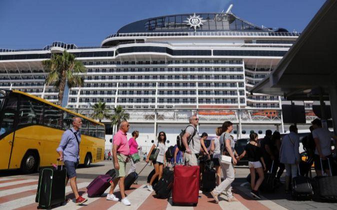 El nuevo crucero del operador familiar italiano, en el Puerto de...