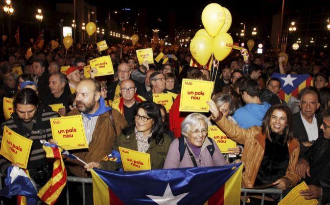 Movilizaciones a favor de la consulta independentista del 9 de...