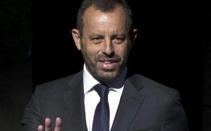 El expresidente del Barcelona Sandro Rosell. Fotografía de archivo de...