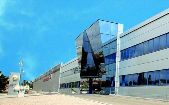 Fábrica de ICFC en Alzira.