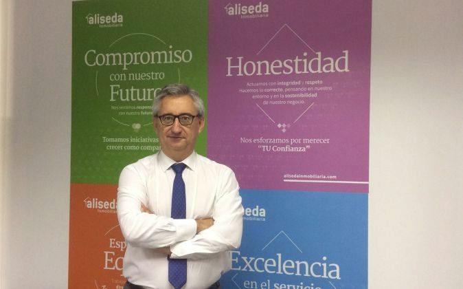 Vicente Brotons, director territorial de Aliseda en Valencia.